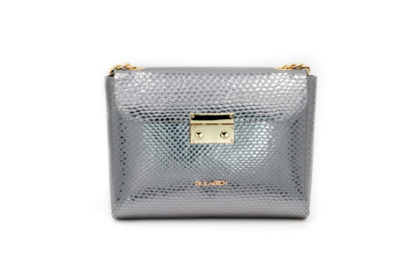 Bolso Plata Serpiente Queen