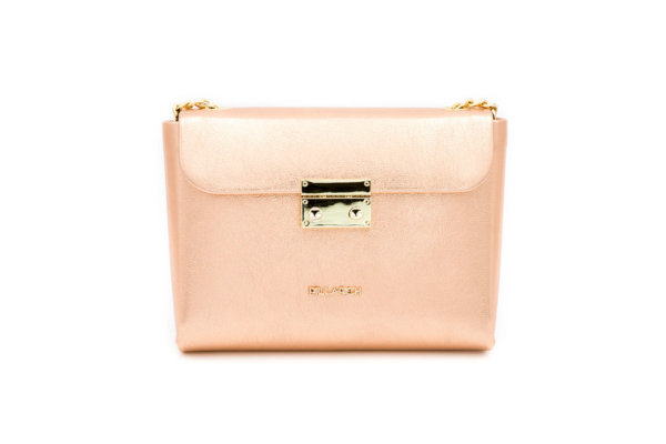 bolso rosa estaño queen