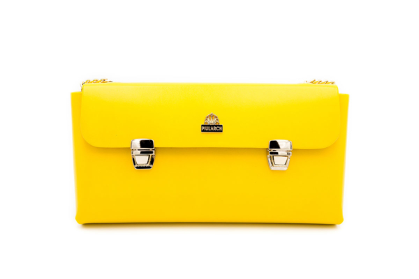 BOLSO AMARILLO CROWN