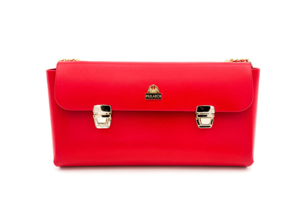 bolso rojo crown