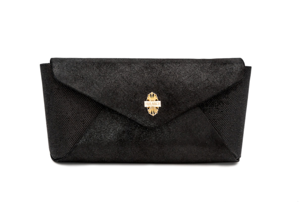 bolso negro brillo dynasty