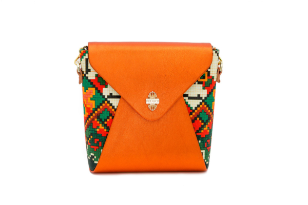 bolso naranja empire